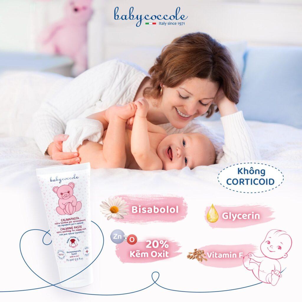 Trẻ sơ sinh bị hăm
