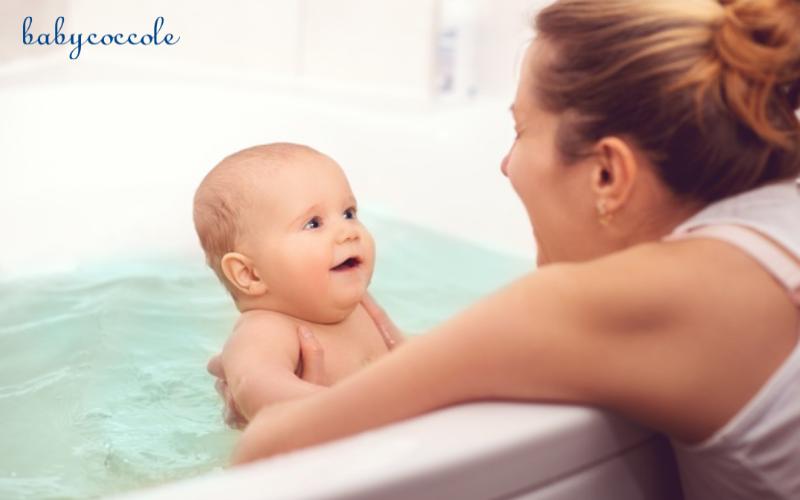cách tắm bé sơ sinh