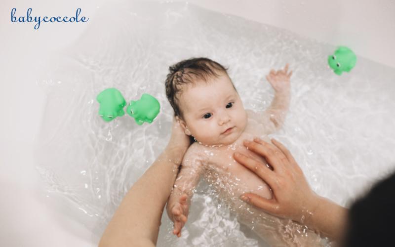 Cách tắm trẻ sơ sinh