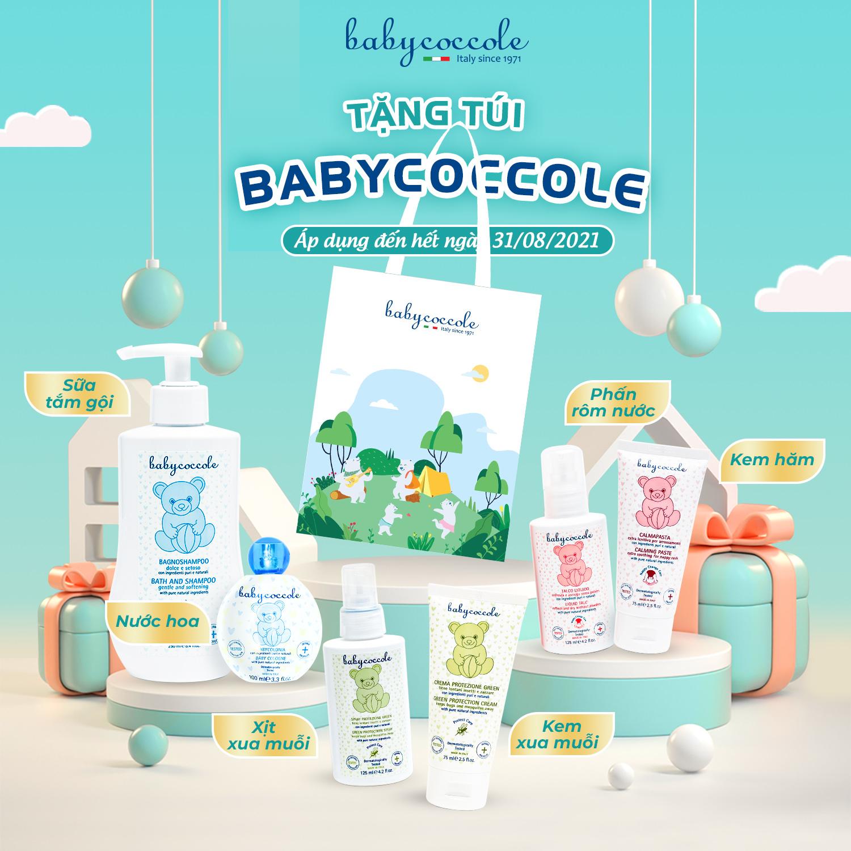 Hướng đến Sống xanh mỗi ngày cùng Túi vải Babycoccole